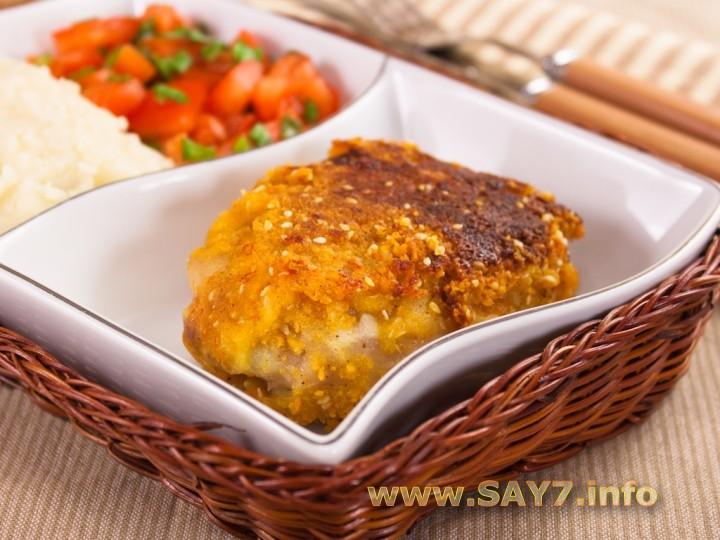 Рецепт Курица в сыре