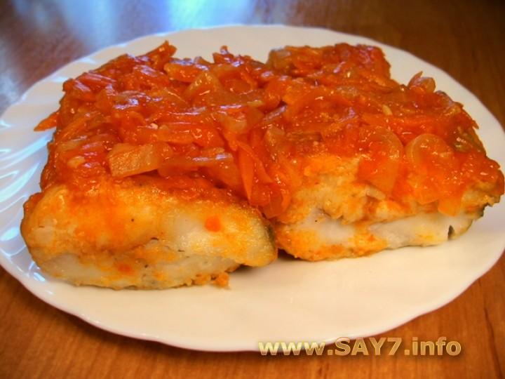 Рецепт Рыба жареная под маринадом