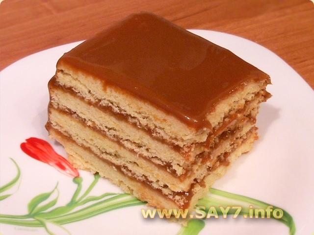Торт из песочного теста рецепт с фото