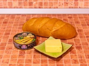 Бутерброды со шпротами. Ингредиенты