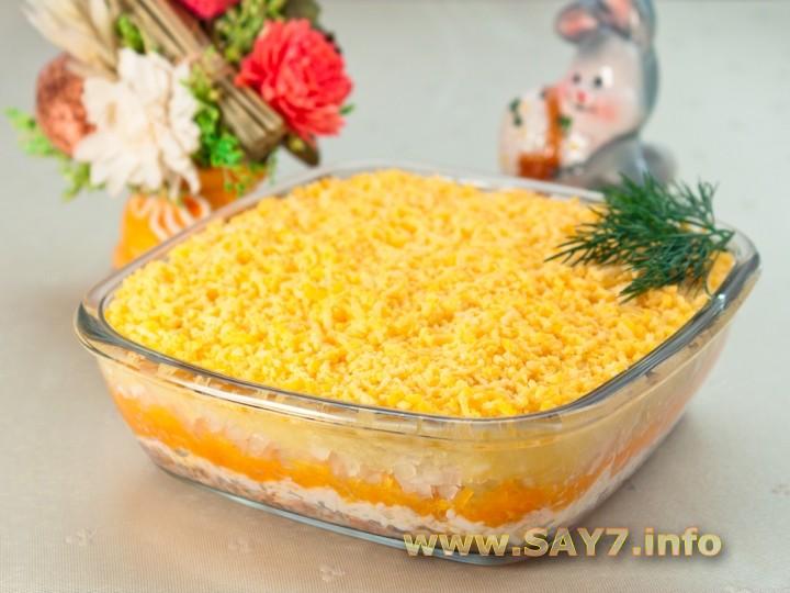 Рецепт Салат «Мимоза»