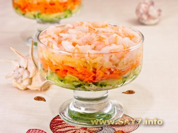 Диетабелковый коктейль и салат
