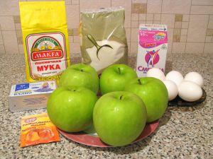 Яблочный пирог. Ингредиенты