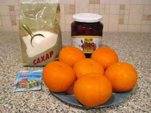 Вишневые апельсины. Ингредиенты