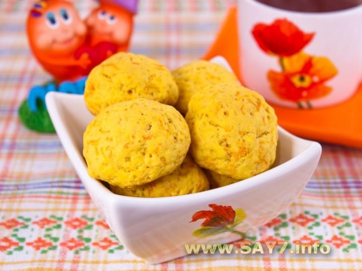 Рецепт Печенье «Морковное»