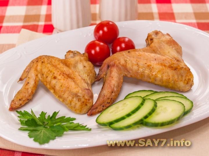 Рецепт Куриные крылышки, запеченные со специями