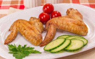 Куриные крылышки, запеченные со специями