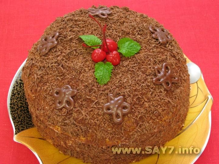 торт волшебный рецепт с фото