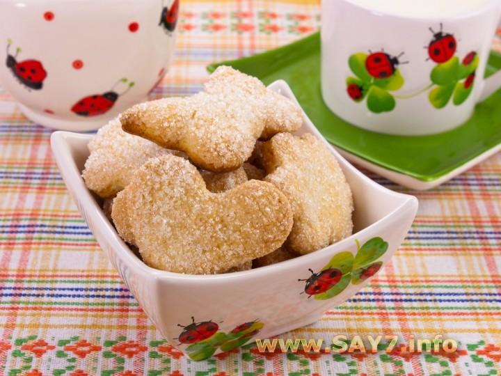 Рецепт Печенье «Сахарное»