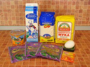Торт Черемуховый. Ингредиенты