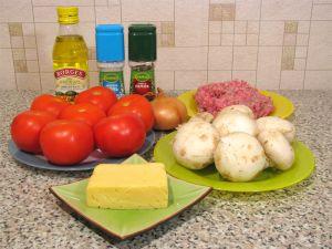 Фаршированные помидоры. Ингредиенты
