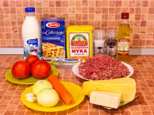 лазанья фото рецепт пошаговый