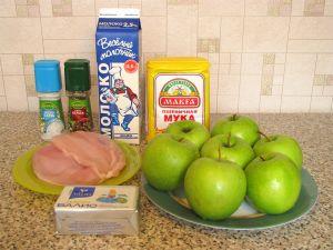 Фаршированные яблоки. Ингредиенты