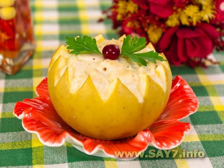 Рецепт Фаршированные яблоки