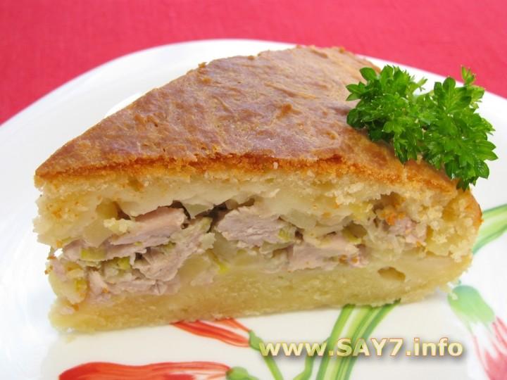 Рецепт Мясной пирог