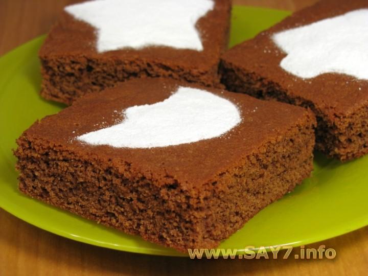 Рецепт Шоколадное пирожное