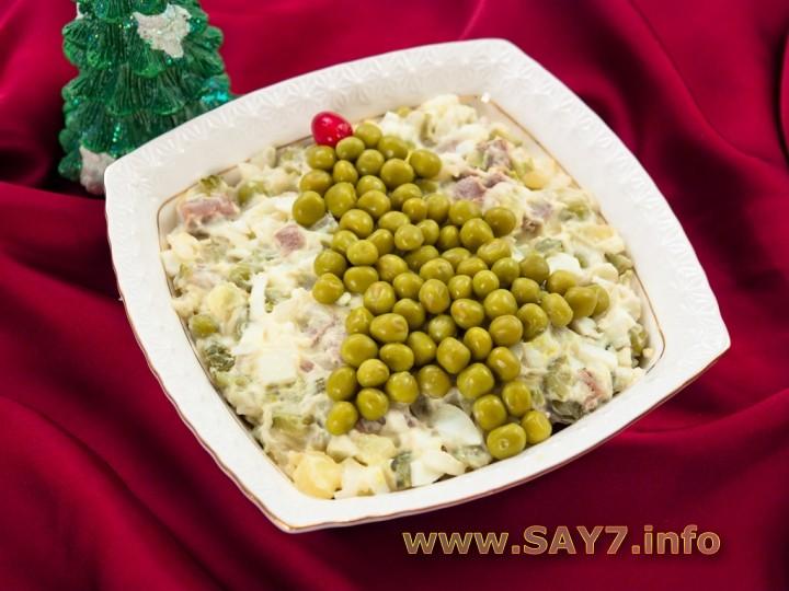 Рецепт Салат «Оливье»