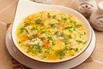 Куриный суп со звездочками