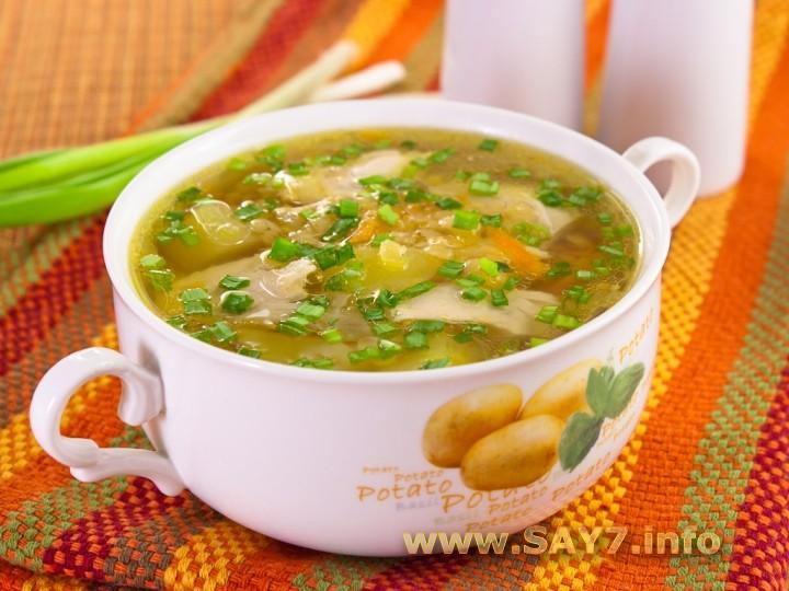 Куриный суп для 1.5 ребенка в
