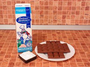 Горячий шоколад. Ингредиенты