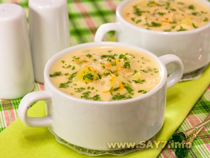 Сырный суп пюре с курицей рецепты
