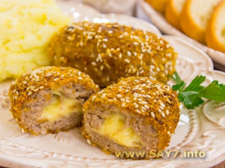 Сырные котлеты пошаговый рецепт с