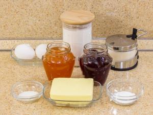 Слоеные печенье с джемом рецепты