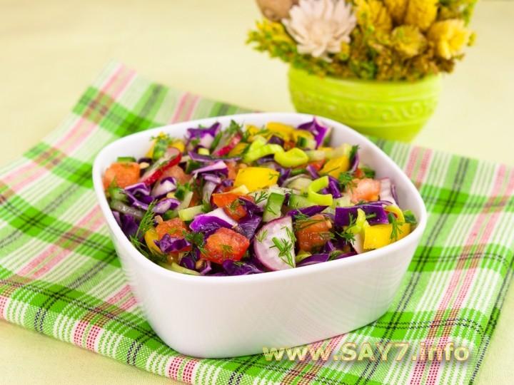Рецепт Салат «Витаминный»
