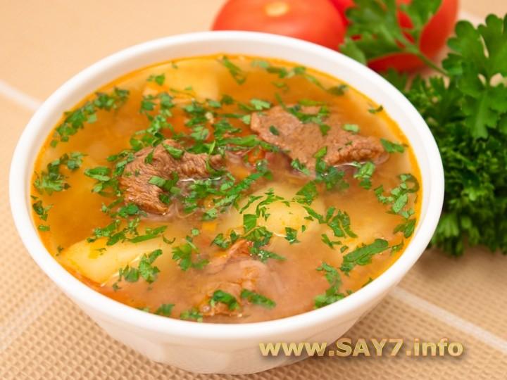 Рецепт Суп «Шурпа»