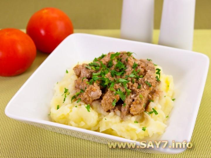 Рецепт Свинина в томатно-ореховом соусе