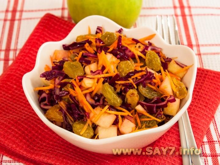 Салат с капустой рецепты