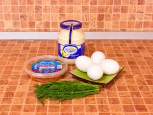 Фаршированные яйца. Ингредиенты