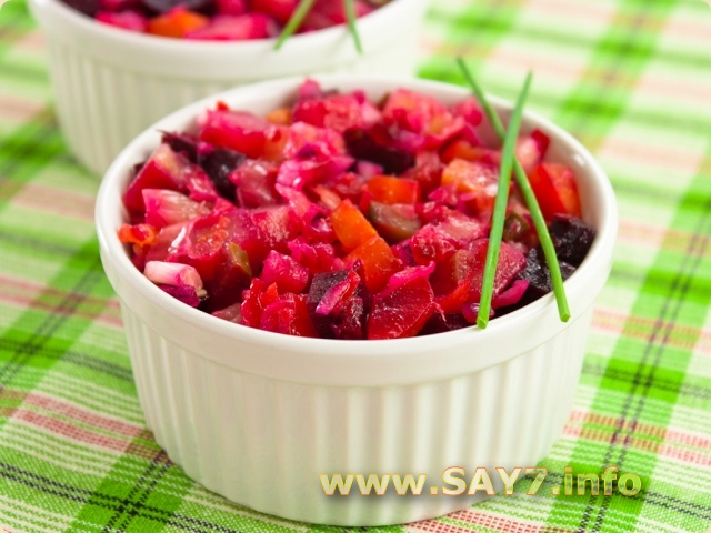 Как сделать салат винегрет 265