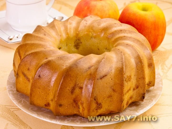 шарлотка с яблоками рецепт скрипкина