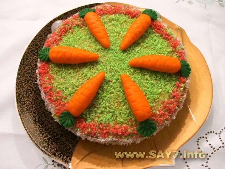 Рецепт Торт «Морковный»