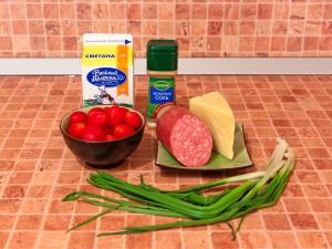 Салат рандеву рецепт с ветчиной изоражения