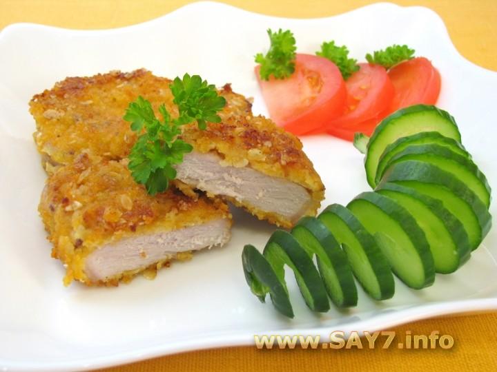 Рецепт Свинина, жаренная с горчицей и яйцами