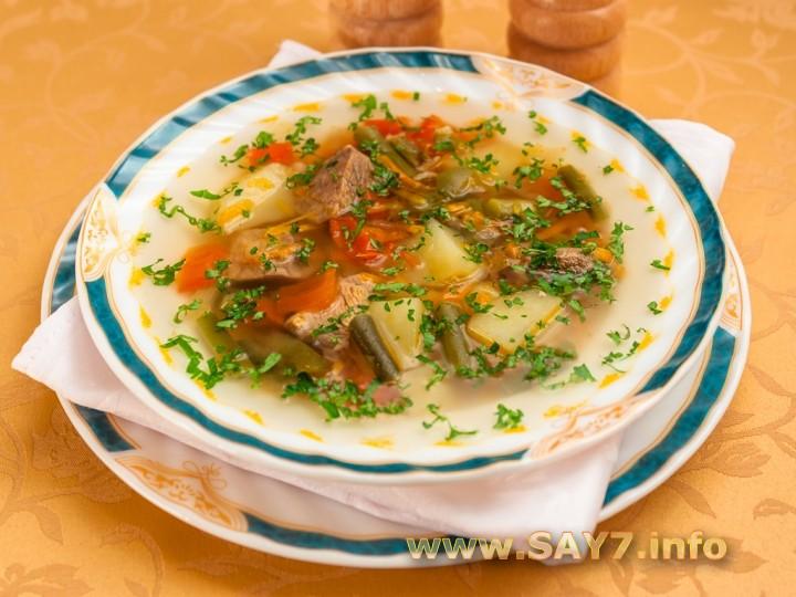 суп с стручковой фасолью рецепт с фото