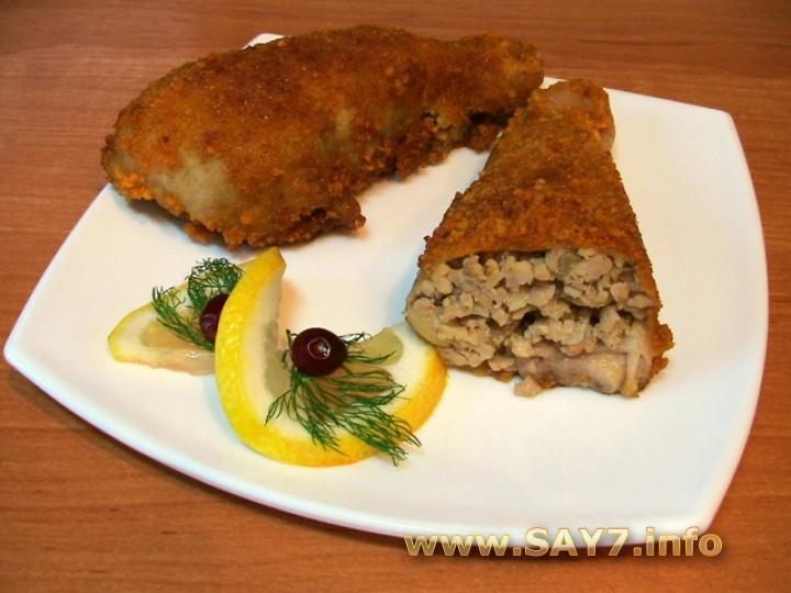 Рецепт филе курицы в панировочных сухарях 155