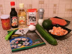 Суши. Ингредиенты