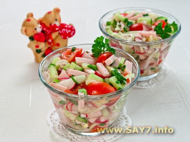 Рецепт Салат «Романтика»