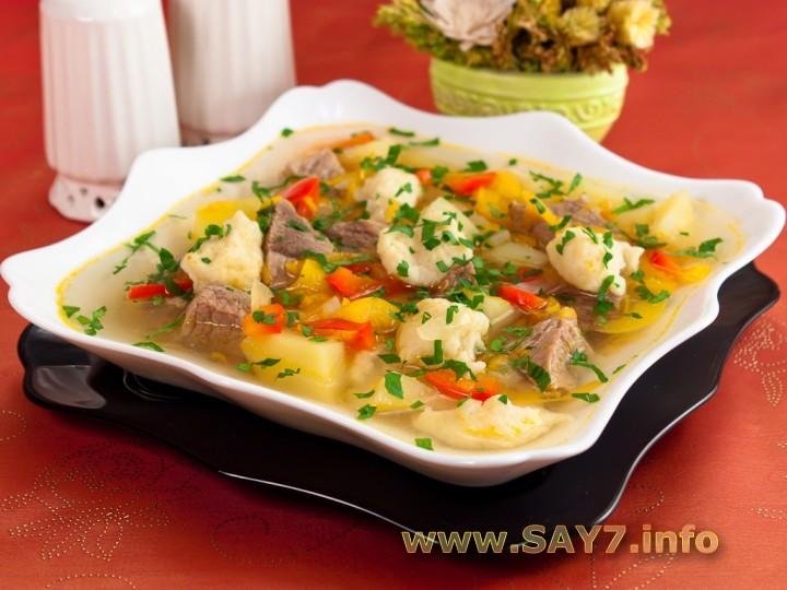 суп с клетками рецепт с фото