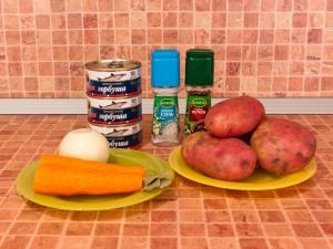 суп с рыбными консервами и крупой рецепт