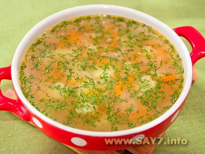 Рецепт Суп с рыбными консервами