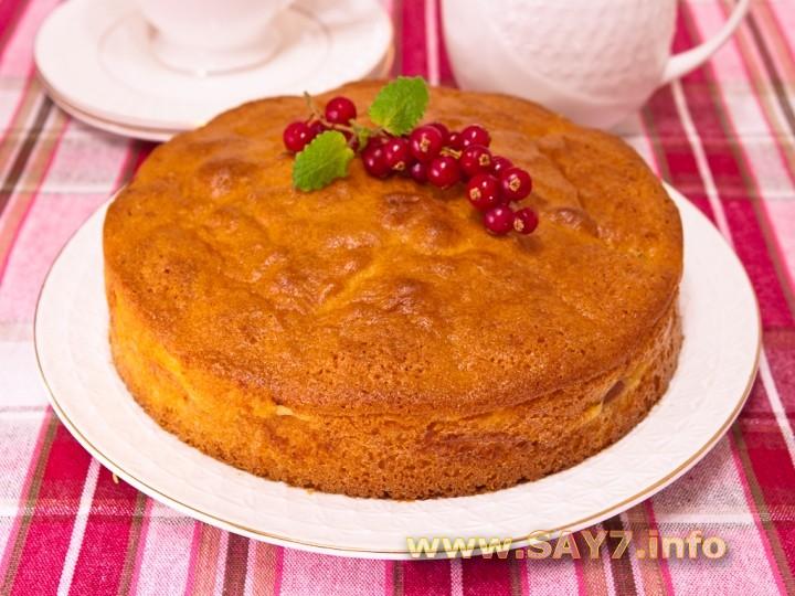Рецепт Пирог с абрикосами