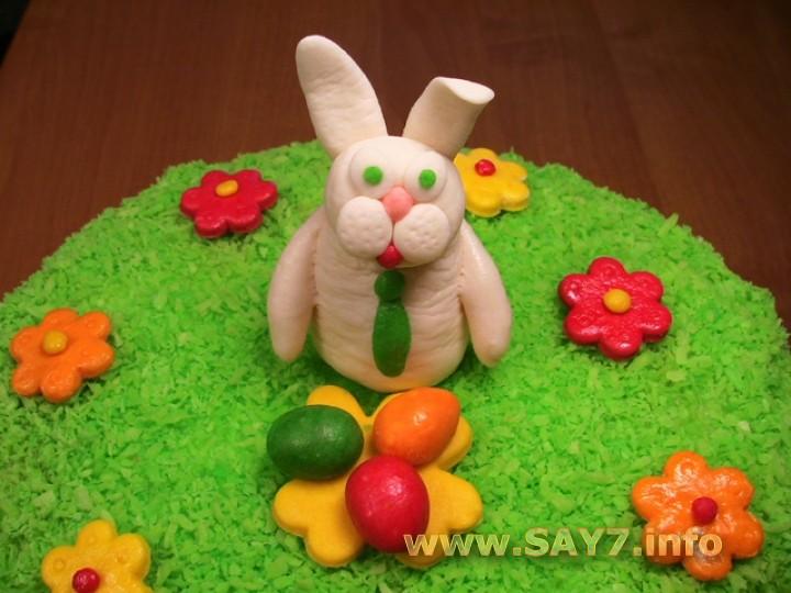 Рецепт Украшение торта «Пасхальный»