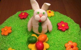 Украшение торта Пасхальный