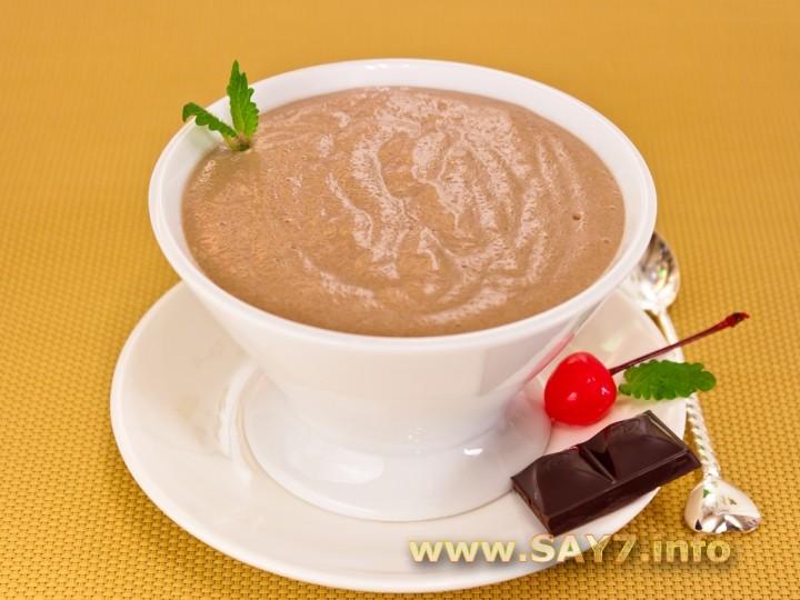 Рецепт Шоколадный мусс на манной крупе