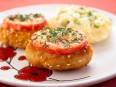 Котлеты<br /> из индейки, жаренные с помидорами и сыром