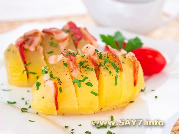 Рецепт Картошка-гармошка